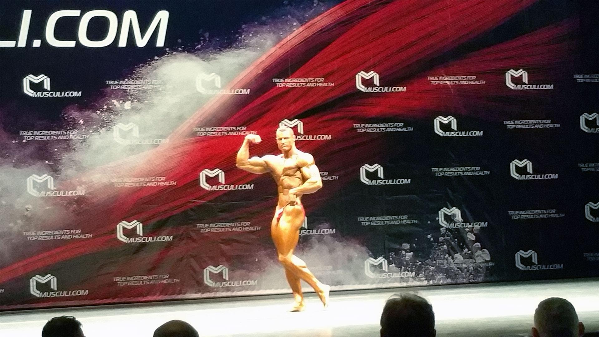 Klaus 'Serratus' Drescher - WBPF European Championship 2015 Breda